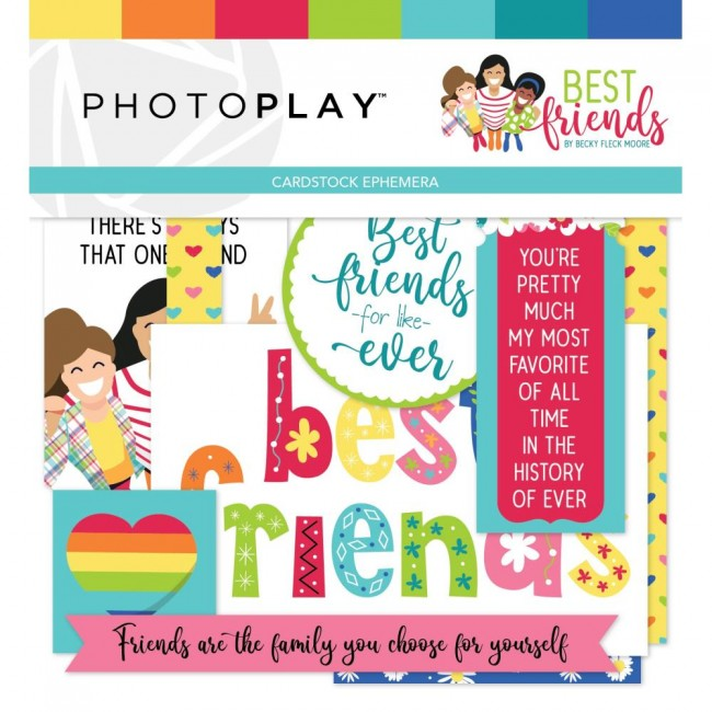Die Cuts Best Friends