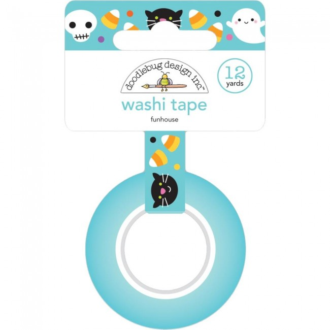 Washi Tape Candy Carnival Funhouse