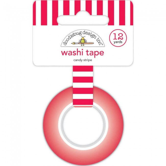 Washi Tape Christmas Magic Candy Stripe