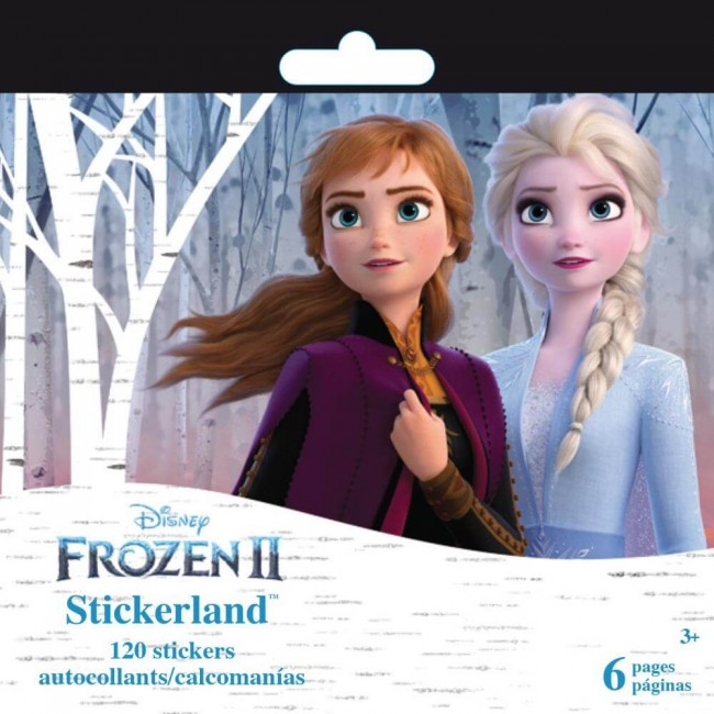 Librillo de pegatinas Frozen II Mini stickerland