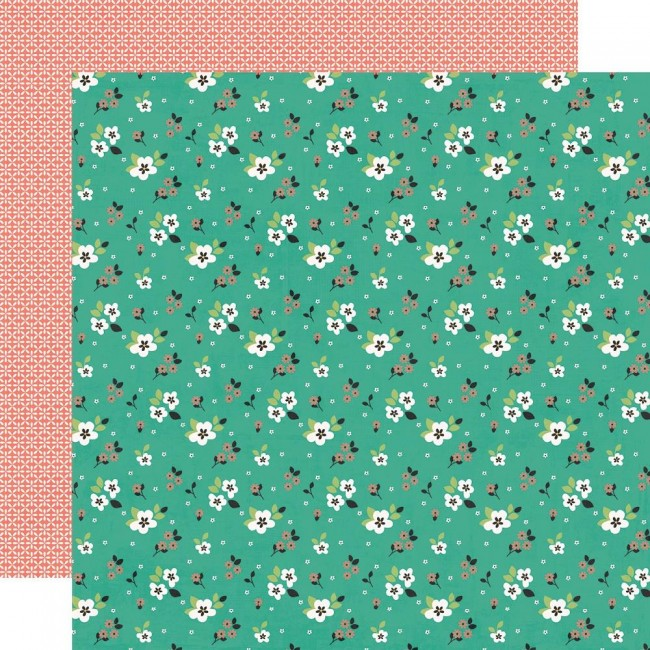 Papel Estampado Doble Cara 12x12 Hey, Crafty Girl So Artsy
