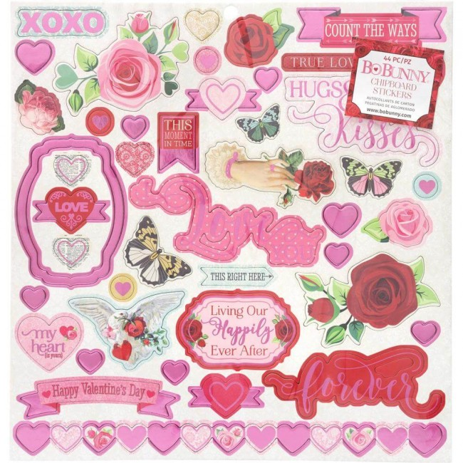 Chipboard 12x12 Count The Ways