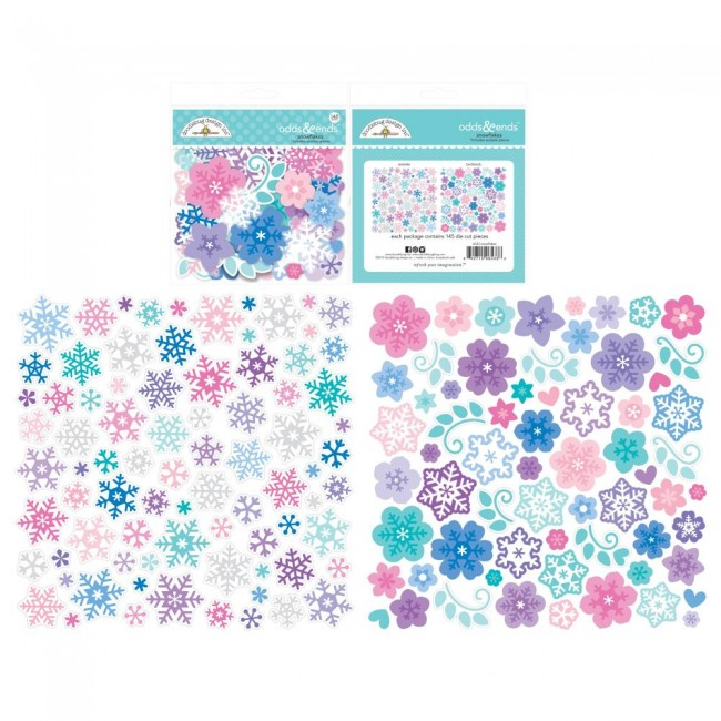 Die Cuts Winter Wonderland Odds & Ends Snowflakes