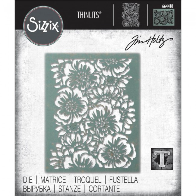 Thinlits Bouquet Tim Holtz