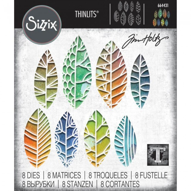 Thinlits Cut Out Leaves Tim Holtz