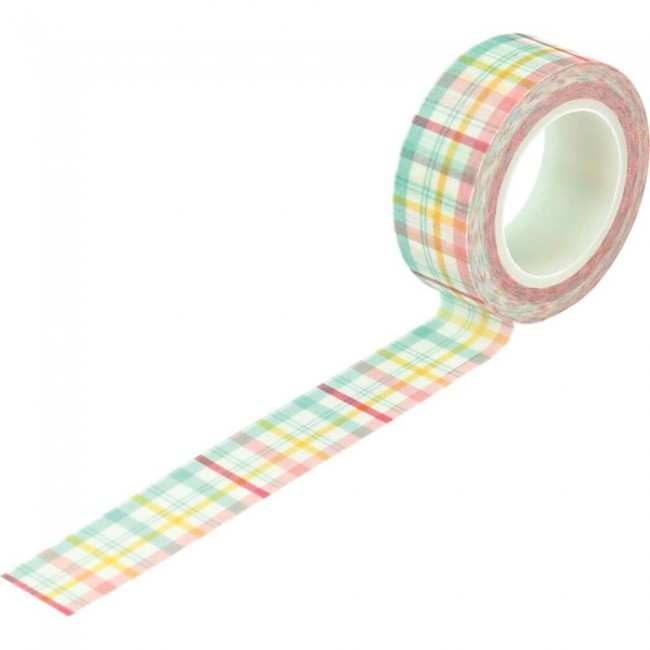 Washi Tape I love Spring Springtime Plaid