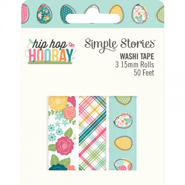 Set de Washi Tape Hip Hop Hooray