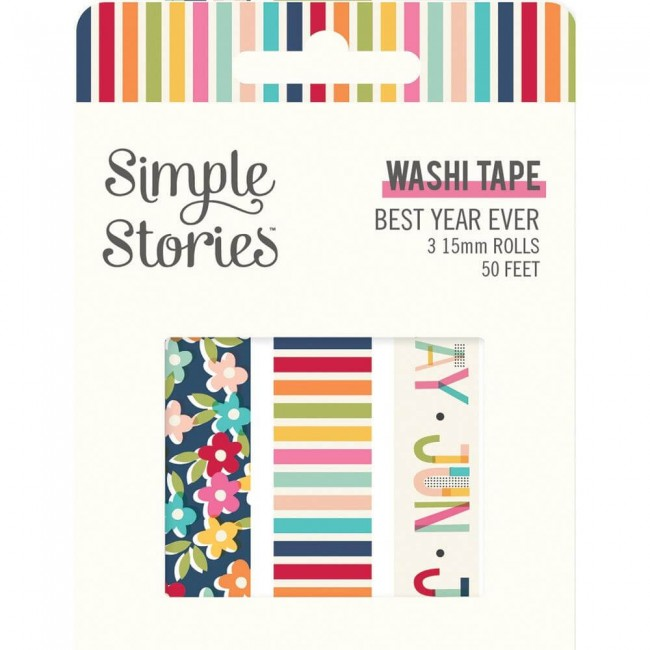 Set de Washi Tape Best Year Ever