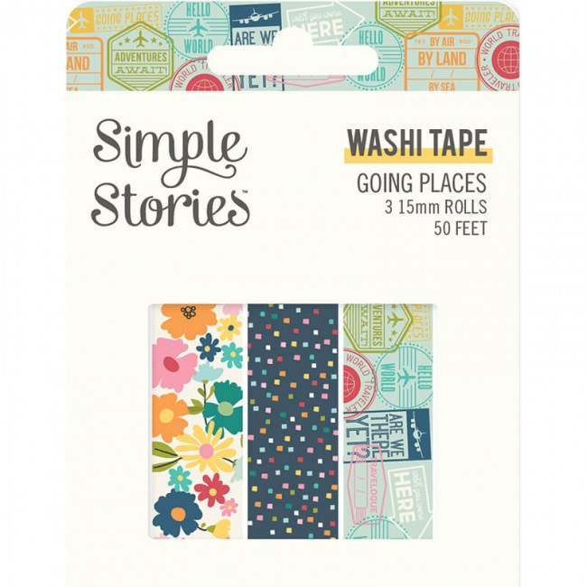 Set de Washi Tape Going Places