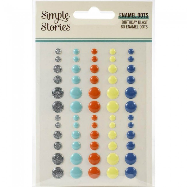 Enamel Dots Birthday Blast