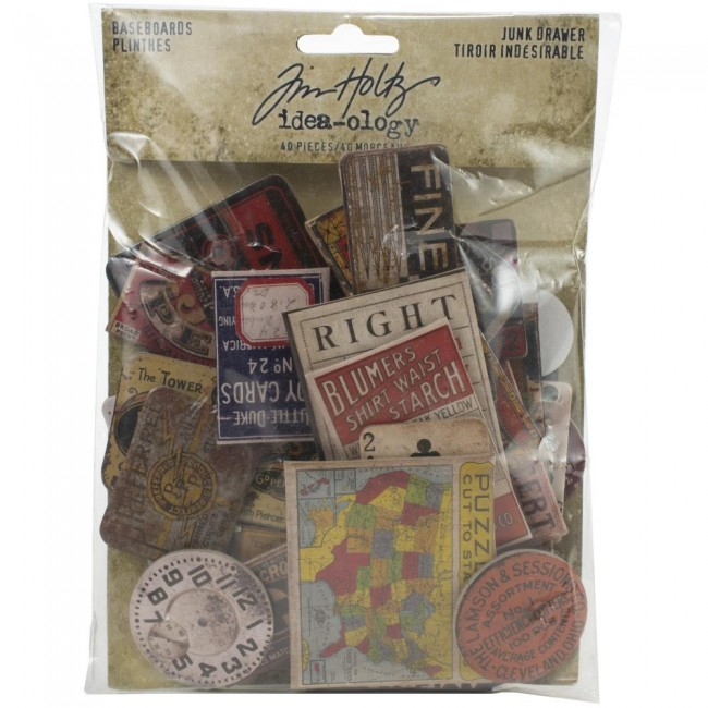 Chipboard Idea-ology Junk Drawer