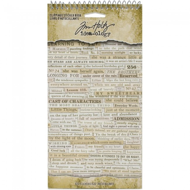 Librillo de pegatinas Idea-ology Clippings