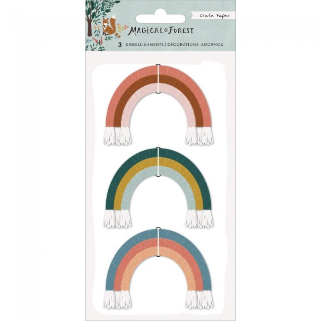 Set de Adornos Magical Forest Rainbows