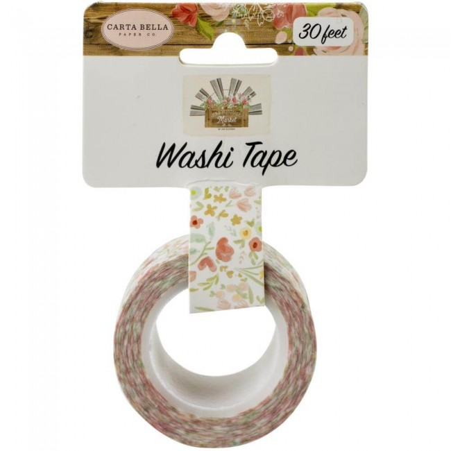 Washi Tape Farmhouse Market Sweet Blooms
