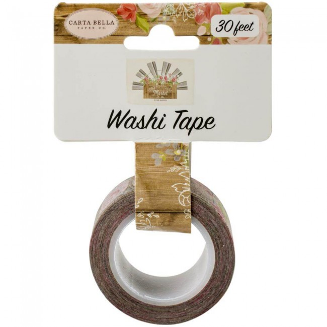 Washi Tape Farmhouse Market Farmhouse Floral
