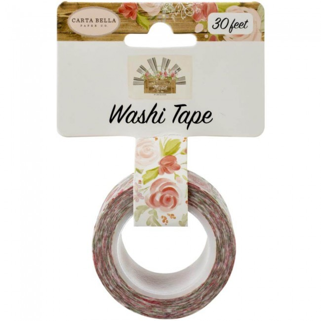 Washi Tape Farmhouse Market Lovely Bouquet