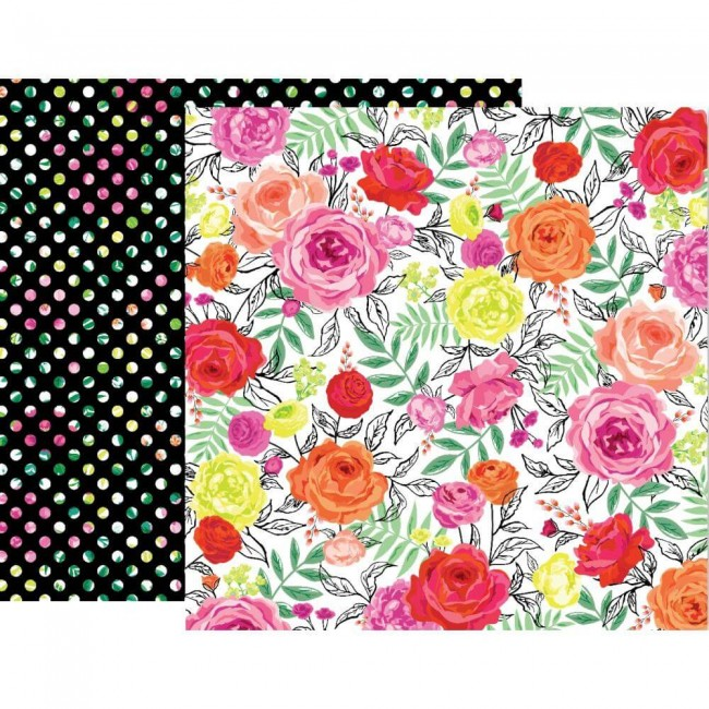 Papel Estampado Doble Cara 12x12 5th & Monaco #3