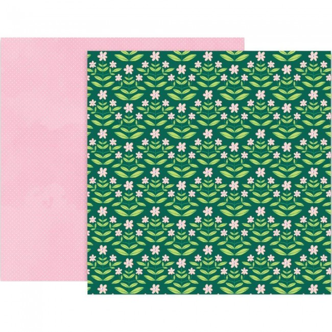 Papel Estampado Doble Cara 12x12 Bloom Street Paige Evans #9