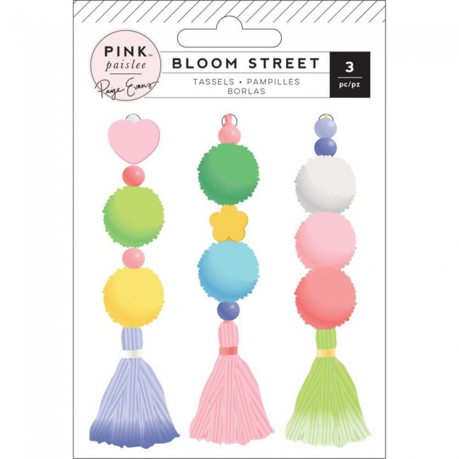 Set de Borlas Bloom Street Paige Evans