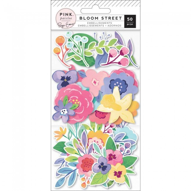 Die Cuts Bloom Street Paige Evans Mixed Floral