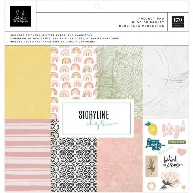 Stack Papeles Estampados Project Pad 12x12 Storyline