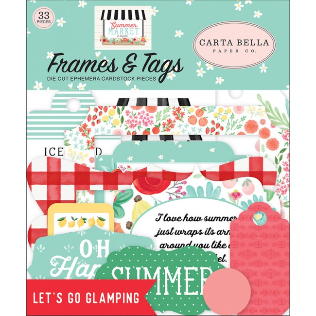 Die Cuts Summer Market Frames & Tags