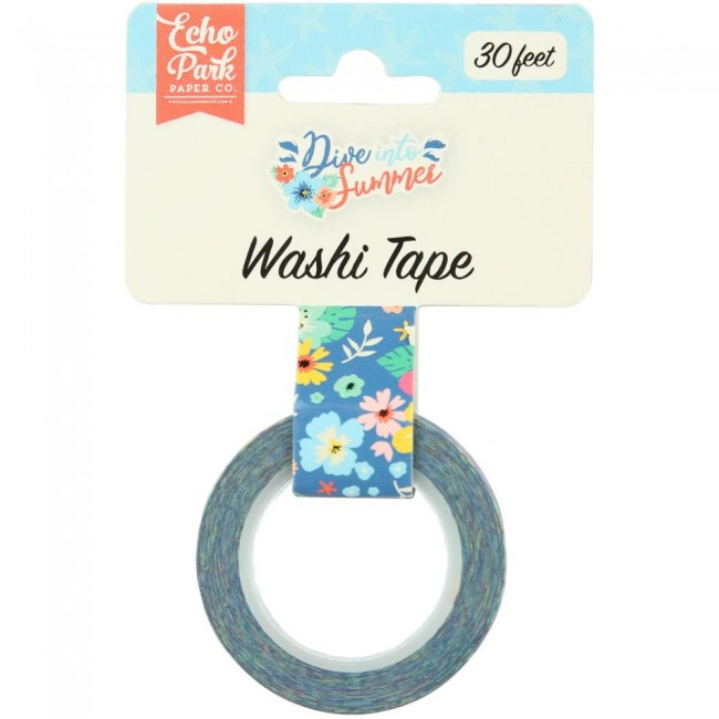 Washi Tape Dive Into Summer Aloha Floral