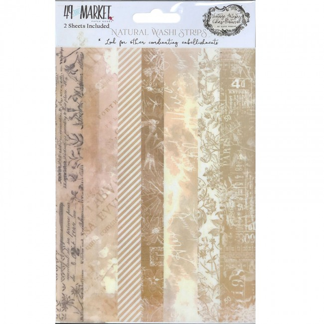 Set de Washi Tape Vintage Artistry Natural