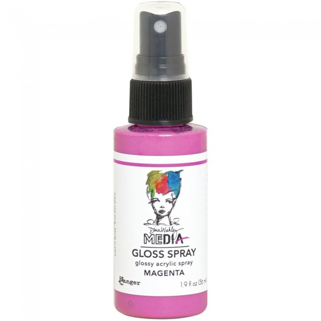 Pintura acrílica Dina Wakley Media Gloss Spray Magenta