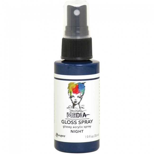 Pintura acrílica Dina Wakley Media Gloss Spray Night