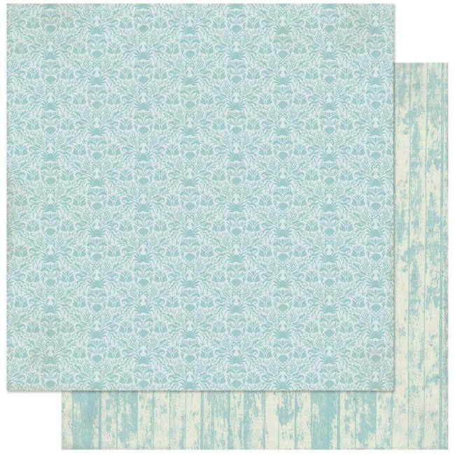 Papel Estampado Doble Cara 12x12 Voyage #7 Woodgrain