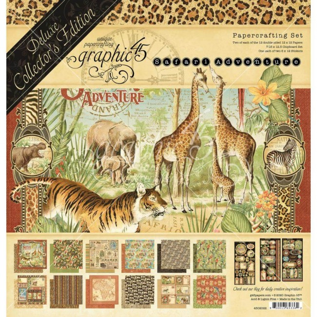 Kit Papeles Collector's Deluxe Deluxe Collector's Safari Adventure