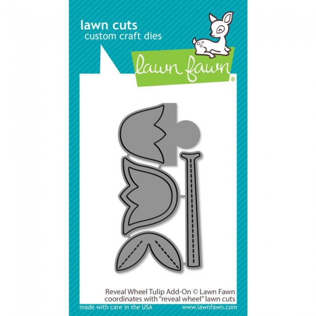 Troquel Lawn Cuts Reveal Wheel Tulip Add-On