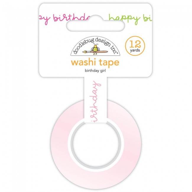 Washi Tape Hey Cupcake Birthday Girl