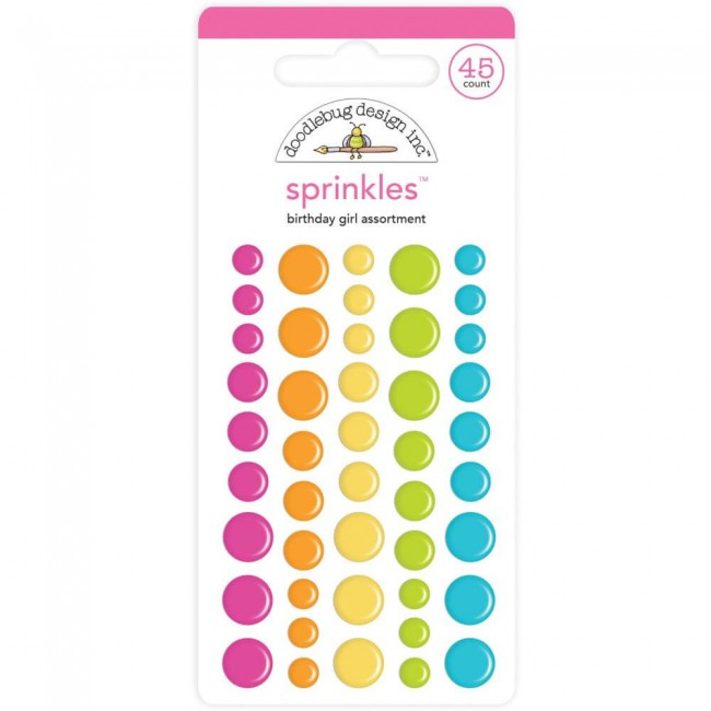 Enamel Dots Hey Cupcake Birthday Girl Assortment