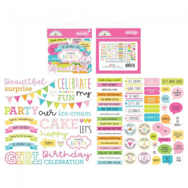 Die Cuts Hey Cupcake Odds & Ends Chit Chat