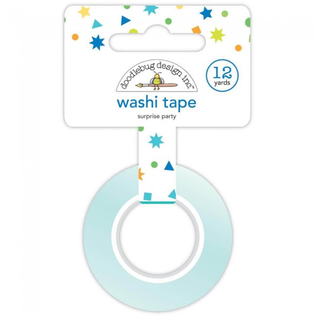 Washi Tape Party Time Surprise Party