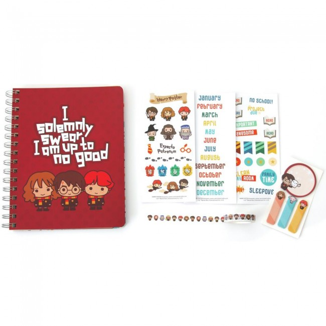 Kit Agenda Harry Potter Chibi