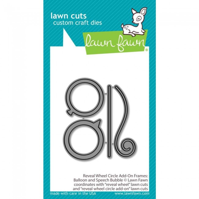 Troquel Lawn Cuts Reveal Wheel Add-On Balloon & Bubbles