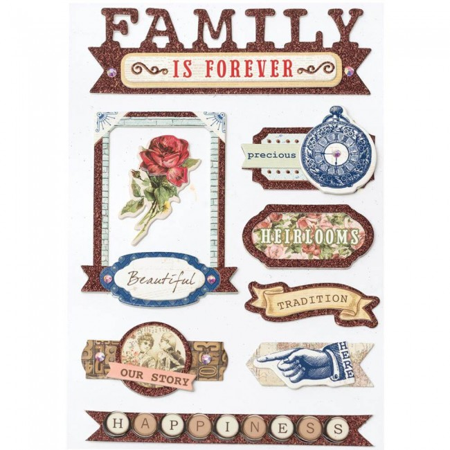 Chipboard Family Heirlooms
