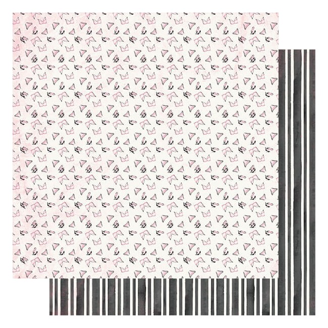 Papel Estampado Doble Cara 12x12 Flawless #2 Ladies Unmentionables