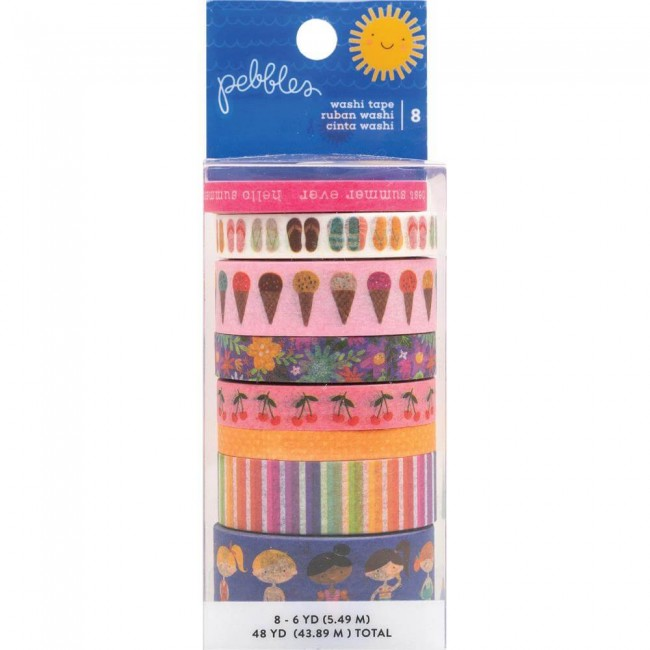 Set de Washi Tape Sun & Fun
