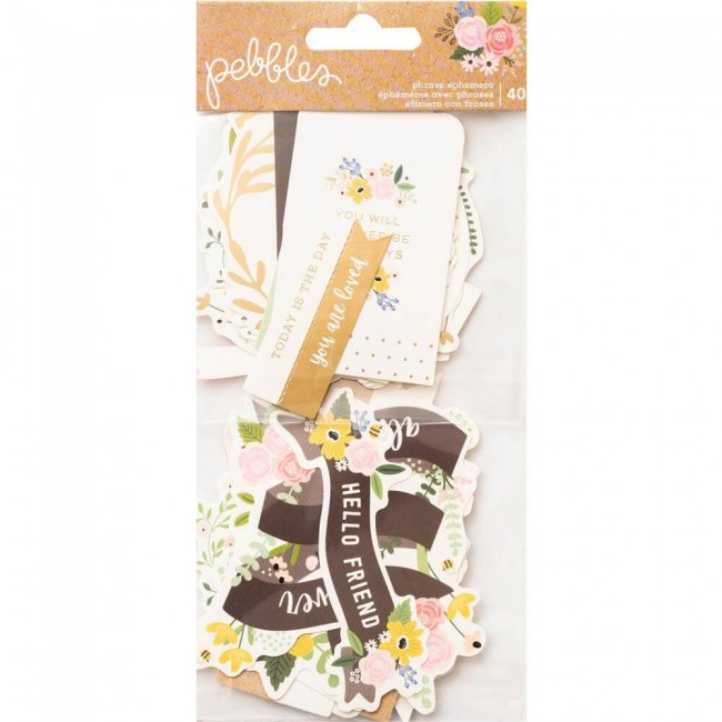 Die Cuts Lovely Moments Phrase