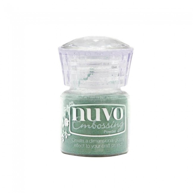 Polvos de Embossing Nuvo Pearled Pistachio