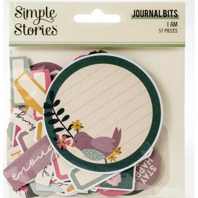 Die Cuts I Am 2020 Bits & Pieces Journal