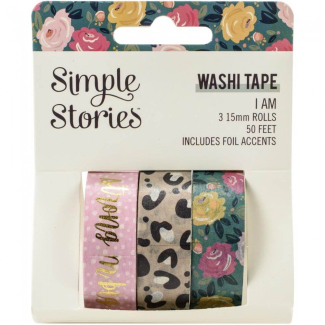 Set de Washi Tape I Am 2020