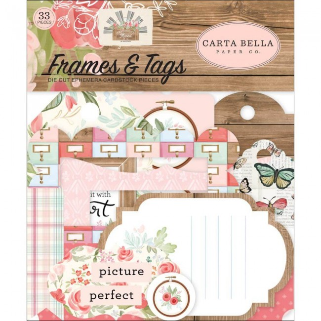 Die Cuts Farmhouse Market Frames & Tags