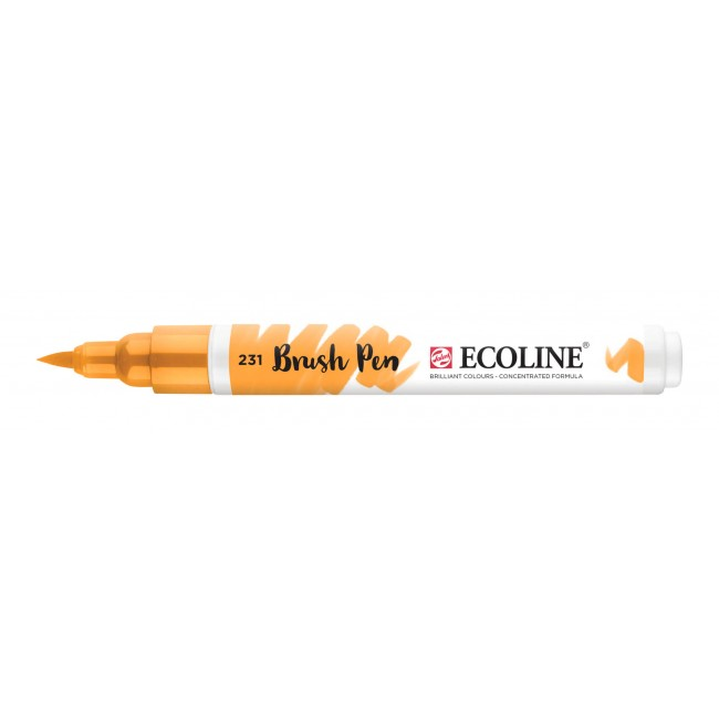 Rotulador Ecoline Brush Pen 231 Ocre Oro