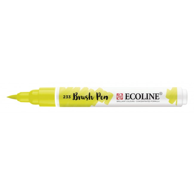 Rotulador Ecoline Brush Pen 233 Chartreuse