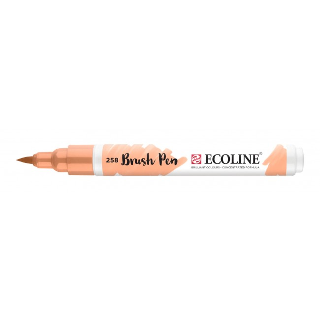 Rotulador Ecoline Brush Pen 258 Albaricoque